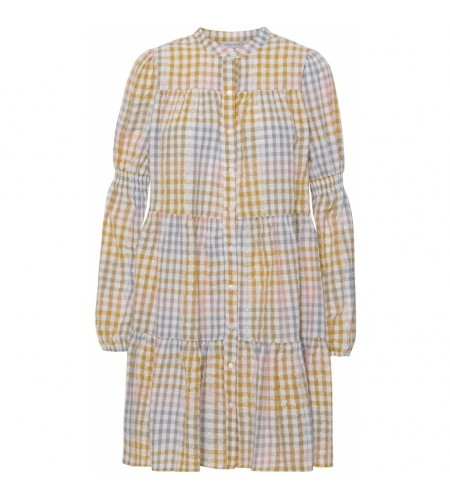 Sanna multicheck dress