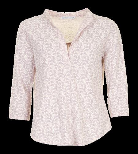 Skjorte med 3/4 ærme - Tiny Flower