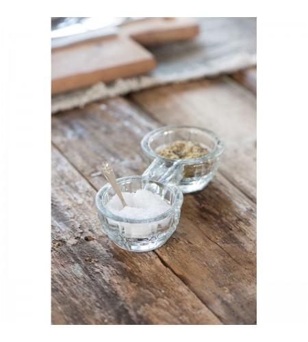 Saltkar dobbelt glas