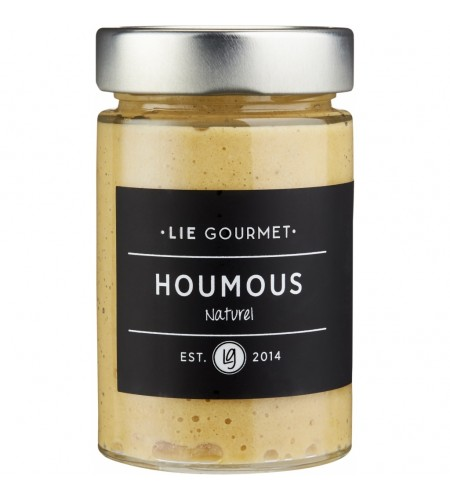 Hummus naturel.