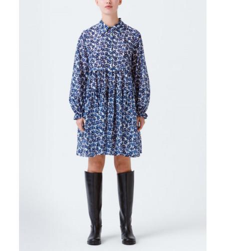 RITA DRESS, NAVY