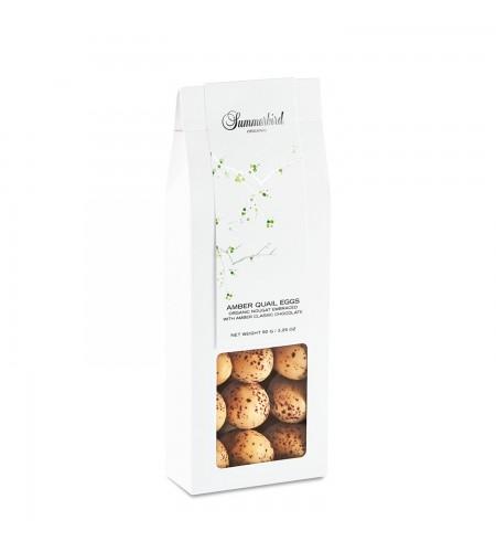 Amber Quail Eggs