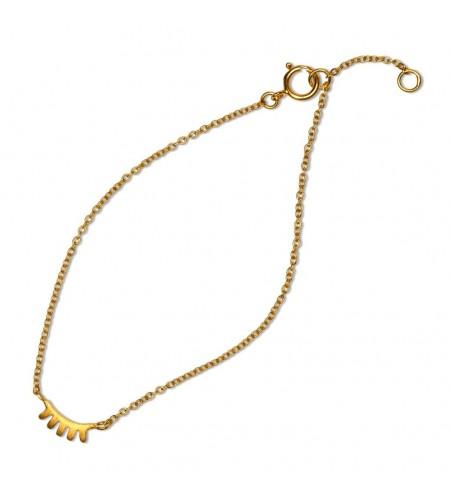 Blink bracelet - gold matte