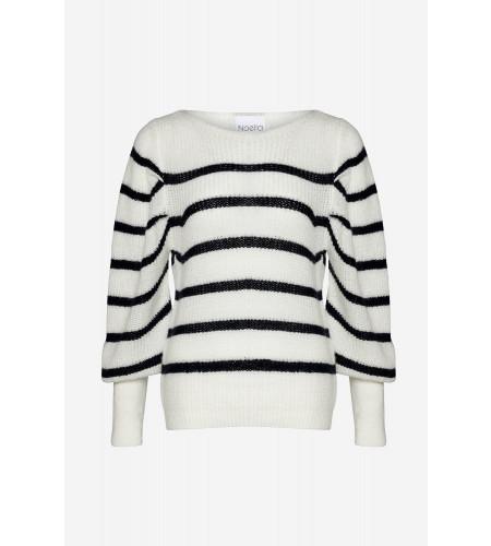 Hush Knit Stripes - Navy/White