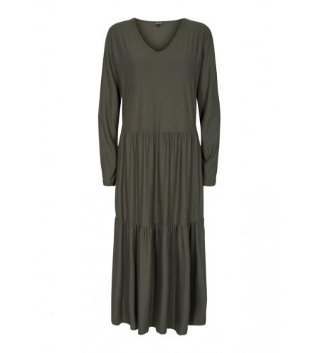 LIBERTÈ - Alma Loose Dress - Olive