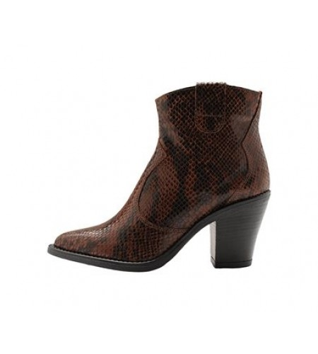 BIADIRA Leather Snake Boot