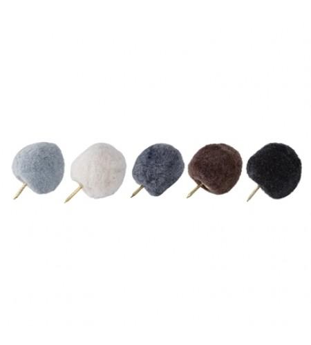 Tegnestift, Multi farvet, Polyester - grå