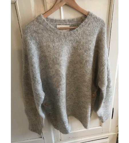Nicco pullover - lysgrå