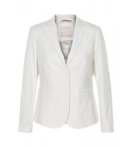 Karen By Simonsen Sydney blazer - snow white - Light grey melang