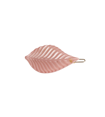 Leaf clip color dusty pink