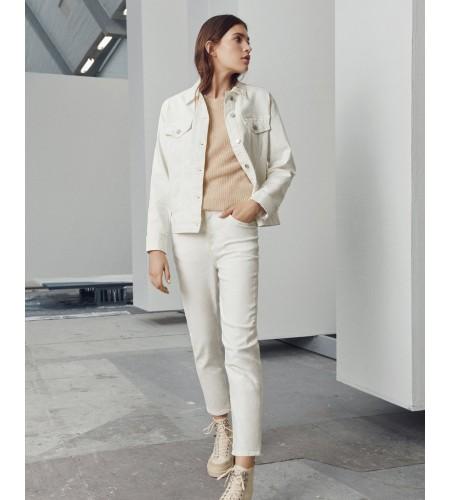 Melanie Crystal HW Ankle Jeans15077