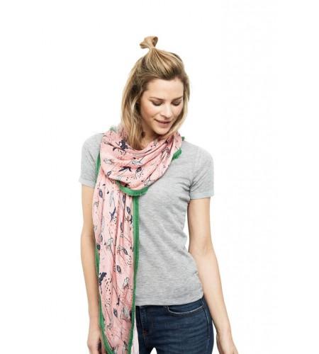 Water Lily Pink 562 tørklæde