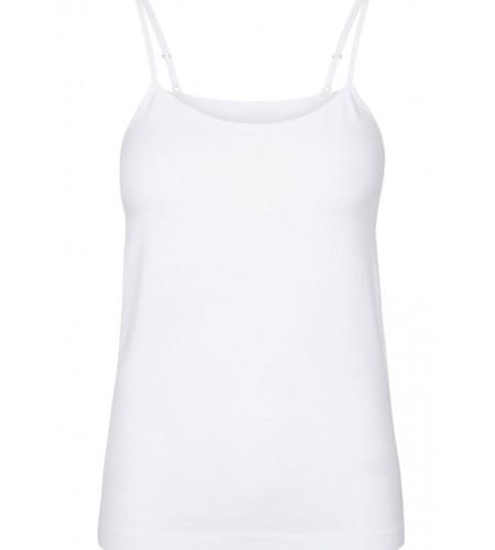 LIBERTÈ - Ninna Top - White  - sort - nude
