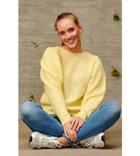 Noella Hush Knit Pale Yellow