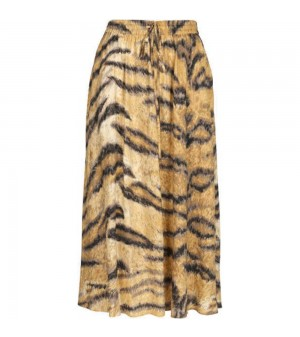 Camel Hofmann Belle skirt - tiger