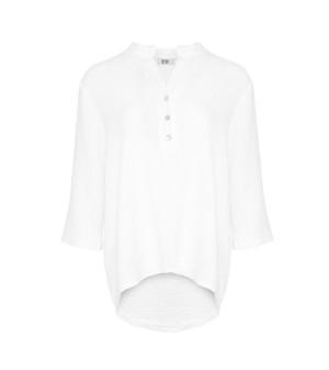Tiffany Bomuldsskjorte 17661 Hvid