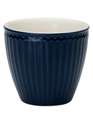 GreenGate Lattekop - Latte Cup Alice Dark Blue