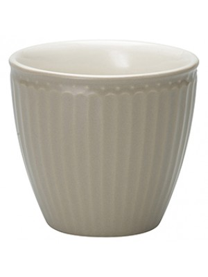 GreenGate Lattekop - Latte Cup Alice Warm Grey