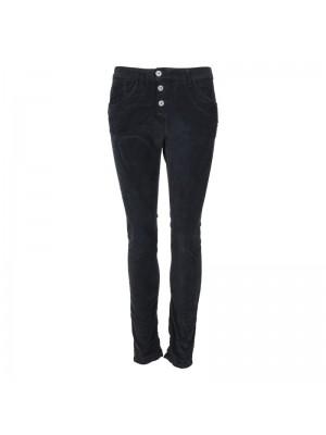 Please Jeans Classic Velour Nero