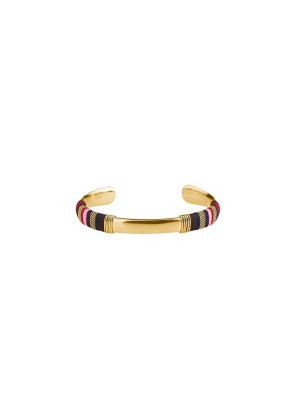 Indiana bangle - navy - gold