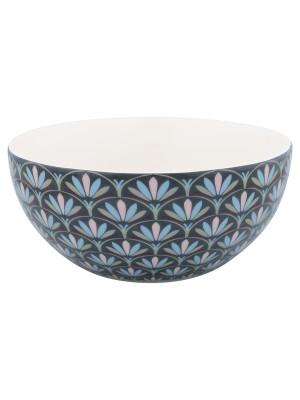 Cereal bowl Victoria dark grey