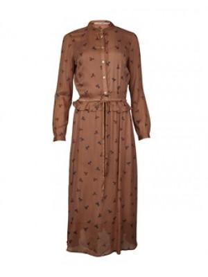 BRUN RUE DE FEMME PALMA DRESS