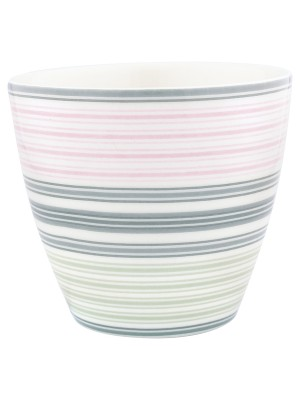 Latte cup Mabel white