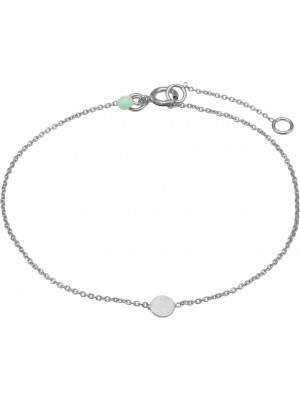 Bracelet, Coin - sølv