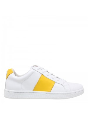 PHILIP HOG SNEAKERS - STRIPE YELLOW