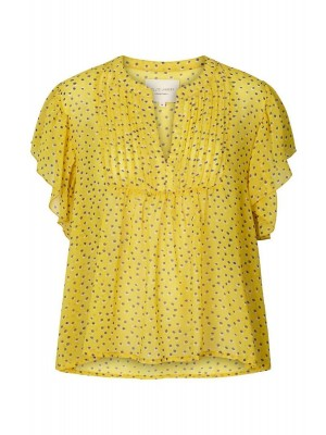 Lollys Laundry - Yellow - Isabel Top