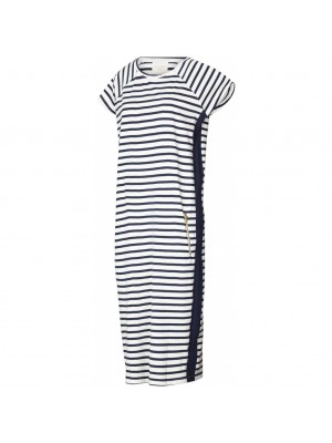 Luna dress | Navy | Stribet kjole fra Lollys Laundry