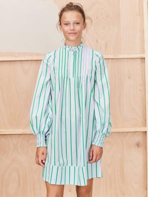 THALIA DRESS, GREEN