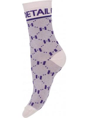 Hype The Detail - Fashion Sock 75 - Purple 9067