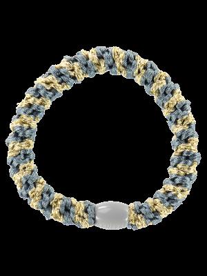 Kknekki Bluegrey-Beige glitter stripe