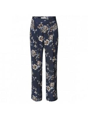Rosemunde bukser - blue - mocha