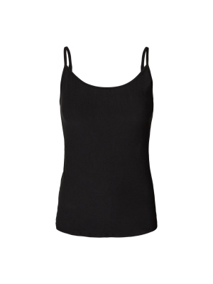Liberte Alma strap top - black - black/white