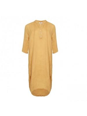 Tiffany Skjortekjole 18970 X Senape