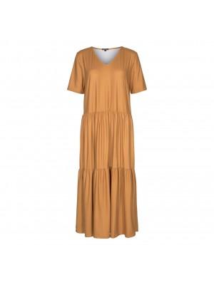 LIBERTÈ - Alma-Short-Loose Dress - Caramel