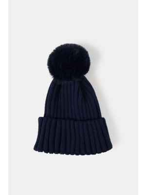 Rae Faux Hat i Navy
