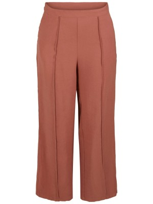 YASTAO wide pant - Copper Brown