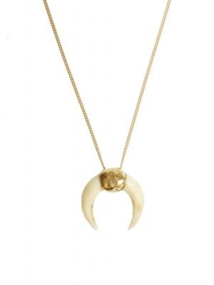 Luna miracle blanche halskæde - guld