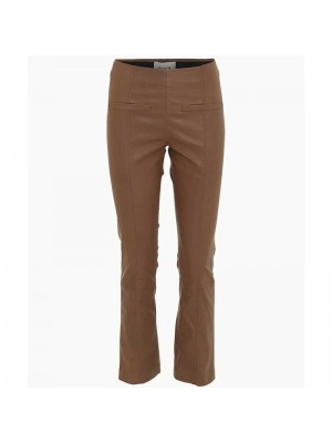 FINE CPH ALLY CROPPED PANT BRUN