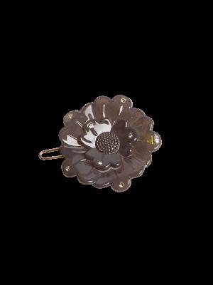 Flower clip Swarovski Muldvarp
