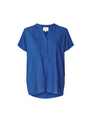 Lollys Laundry Bluse - Heather Shirt, Dot Print