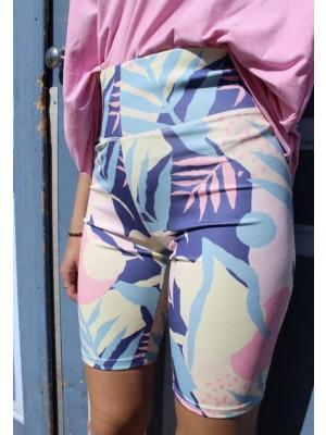 Forudbestilling - Liberté - Nicole Shorts - Cream Leaf - PREORDER (Medio Juni)
