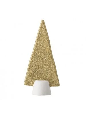 Juletræ, Guld, Porcelæn