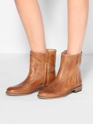 Ivylee - Evy læder ankel boots