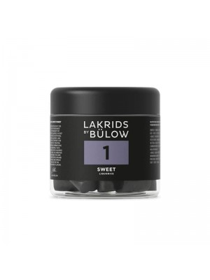 No. 1 Sweet Small Lakrids by Bülow 150 g