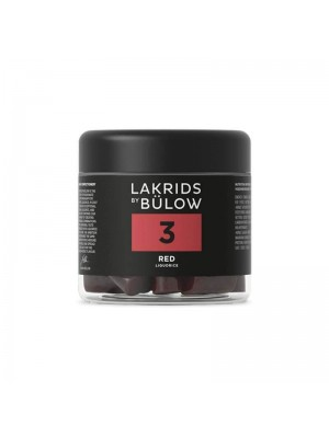 No. 3 Red Small Lakrids by Bülow