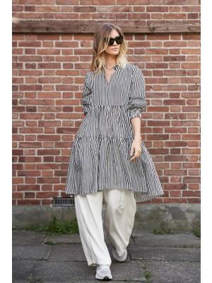 Lollys Laundry - Eva dress - 80s Stripe